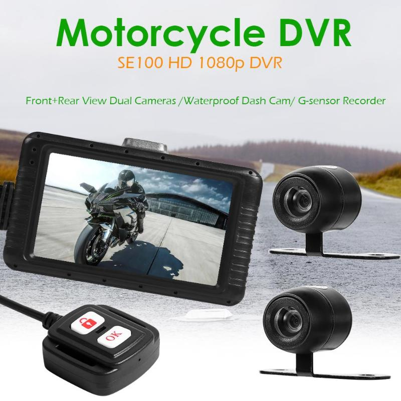 VODOOL SE100 Full HD 1080P Motorcycle Camera 2