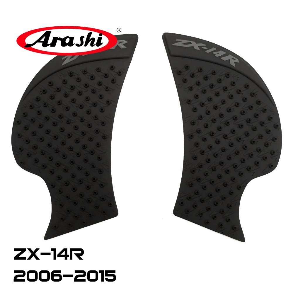 Arashi Fuel Tank Pads Decals For Kawasaki Zx14r Zx 14r 2006-2015 Side Stickers Gas Knee Grip Traction Pads Protector Zx-14r Famous For Selected Materials Novel Designs Delightful Colors And Exquisite Workmanship