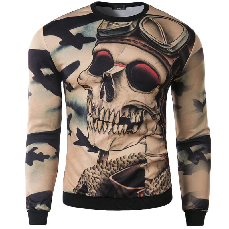 Online Get Cheap Skull Hoodies Men -Aliexpress.com | Alibaba Group