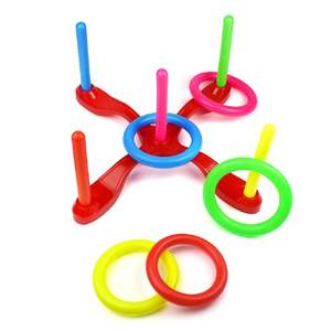 Toy Outdoor Garden-Game Hoop Ring-Toss Plastic-Ring Sport-Toys Pool Quoits Fun-Set Funny