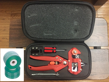 Red Color Quality Pro Garden Fruit Tree Professional Pruning Shears Grafting Cutting Tool With 2 Blades