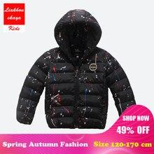 Liakhouskaya Kids Parka Outerwear Children Winter Jackets Du