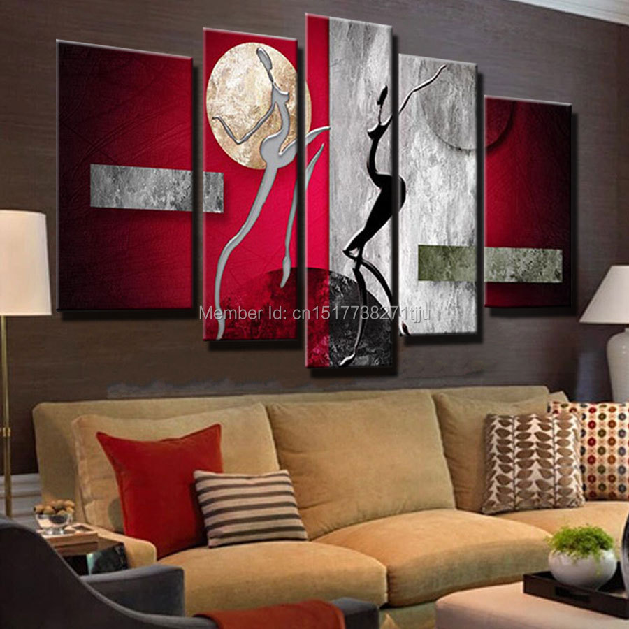Large Painting For Living Room Compare Prices On Oil Painting Large Online Shopping Buy Low
