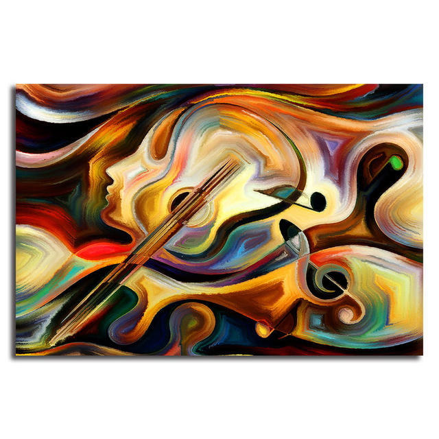 Colorful Abstract Canvas Wall ArtHd Abstract Lady Print Paintings For Living Room Bedroom Cuadros  sc 1 st  AliExpress.com & Colorful Abstract Canvas Wall ArtHd Abstract Lady Print Paintings ...