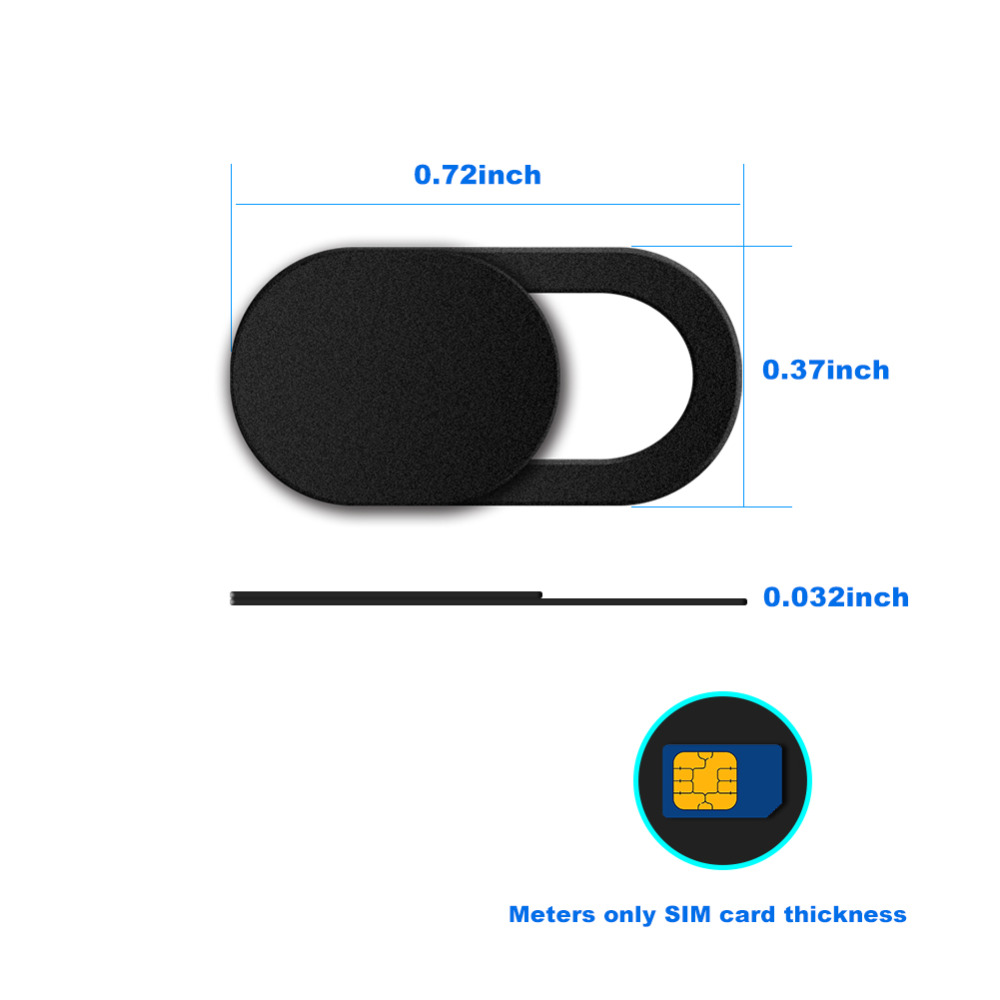 Thin And Light Webcam Cover Shutter Magnet Slider Plastic For <font><b>Ginzzu</b></font> S5050 S5040 S5140 <font><b>St6040</b></font> Flycat Optimum 5501 Optimum 5004 image