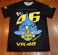 Summer Men S Leisure Sports T Shirt Motogp VR46 Rossi T Shirt High Quality Custom Printed