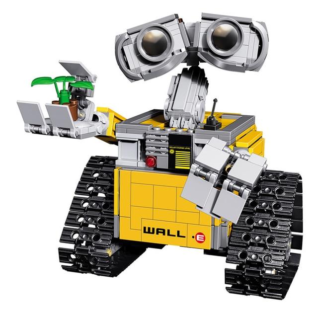 Idea Robot WALL E Model Building Blocks Kit Figures Bricks Toys Birthday