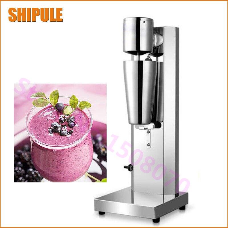 Из нержавеющей стали, Электрический мини молочный коктейль машина автоматическая молока тряски машина пузырь чай молоко шейкер