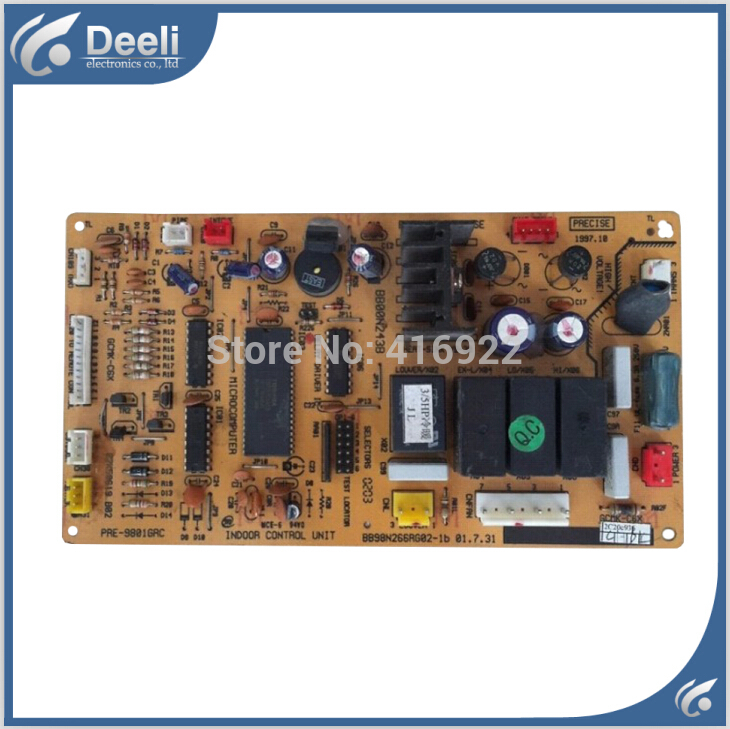 95% new good working for Hualing air conditioning circuit board BB98N266RG02-1 BB00N243B computer board good working heidelberg ltk500 compatible board part number 91 144 8062 00 781 9689 98 198 1153 sophisticated materials new circuit design