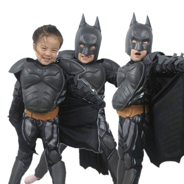 Haloween batman costume outfit/Mask Blue LED Eyes Halloween Make up Toy for Kids  sc 1 st  AliExpress.com & Haloween batman costume outfit/Mask Blue LED Eyes Halloween Make up ...