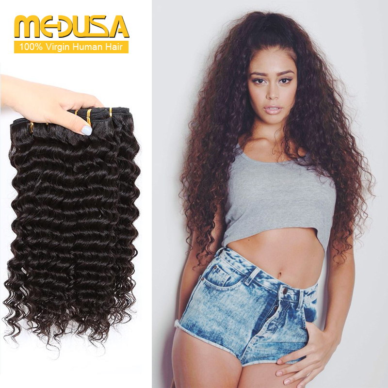 Medusa hair company 10a grade brazilian deep wave virgin hair 3 medusa hair company 10a grade brazilian deep wave virgin hair 3 bundles weave 100 bulk human hair wholesale cheap hair bundles in hair weaves from hair pmusecretfo Gallery