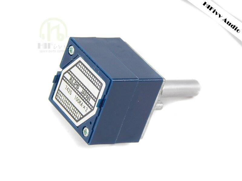 Hifivv audio Japonais d'origine type ALPS27 10 K 50 K 100 K volume potentiomètre hifi amplificateur de puissance accessoires