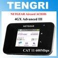 "Original desbloqueado 2.4 ""pantalla táctil netgear ac810s aircard 810 s cat11 600 mbps 4gx avanzada iii 4g lte móvil hotspot wifi router"