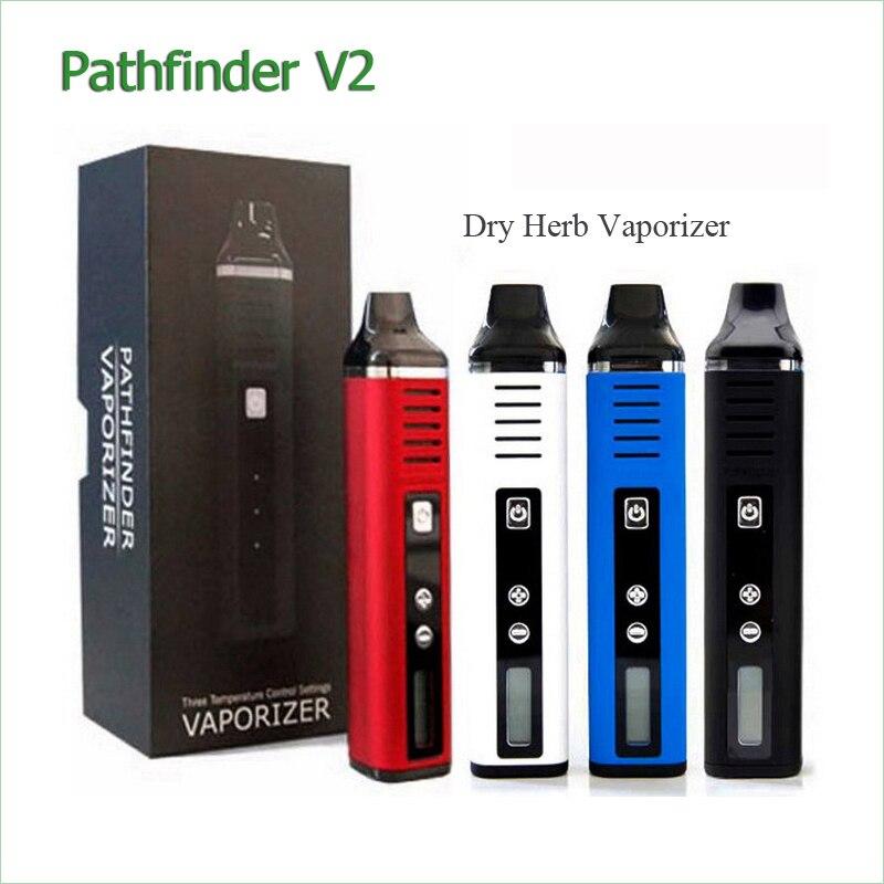 100% D'origine Pathfinder V2 Herbe Sèche Vaporisateur Cigarette Électronique Chine 2200 mah Batterie E-Cigarette Vaporisateur