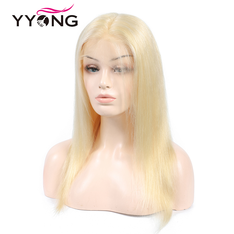 Yyong 613 12x3 Lace Front Human Hair Wigs For Black Women Pre Plucked Hairline With Baby Hairs Brazilian Straight Remy Hair 120%-in Human Hair Lace Wigs from Hair Extensions & Wigs    2