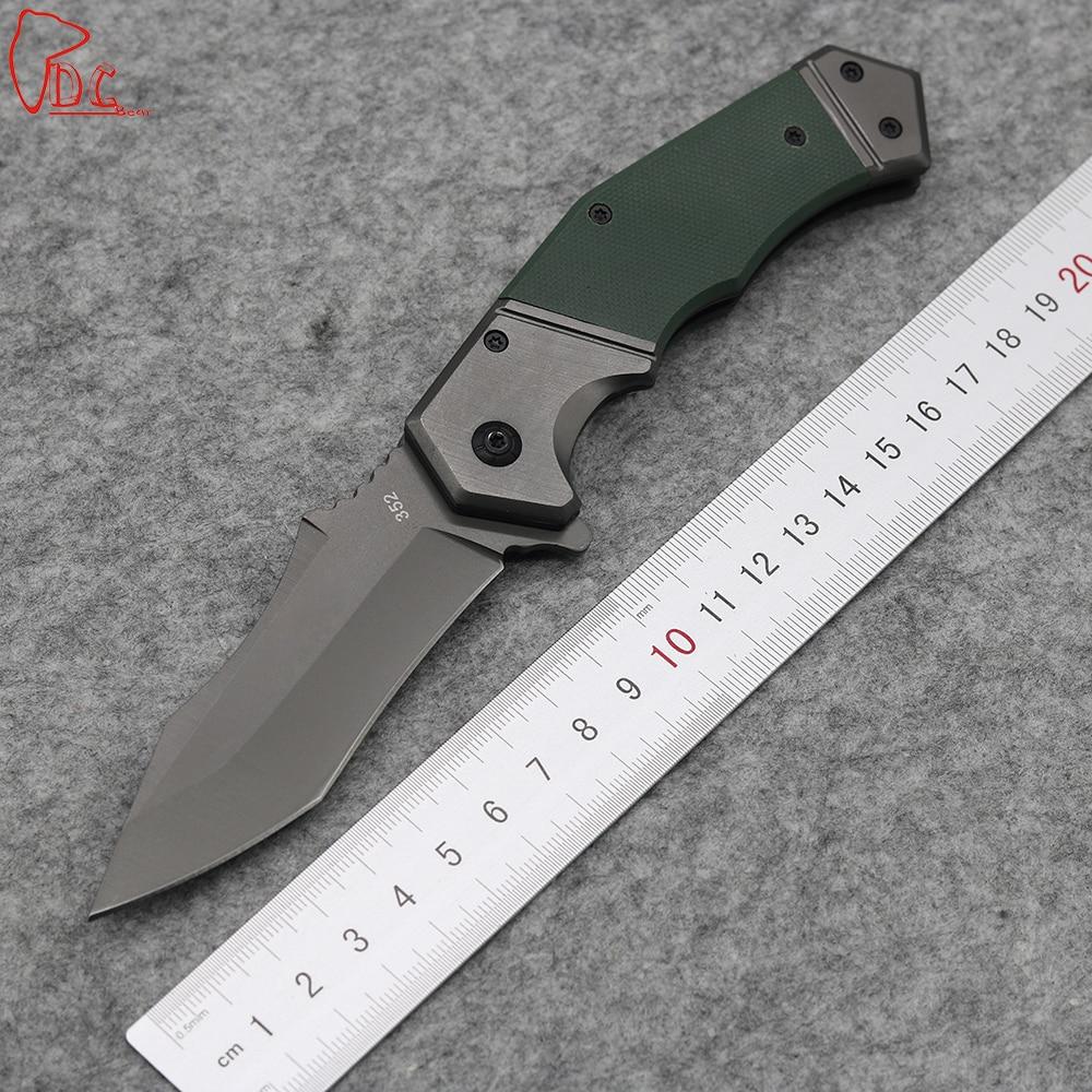 Dcbear Top font b Tactical b font font b Knives b font Folder 8CR13MOV Steel Blade