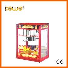 Коммерческих автоматический Электрический попкорн машина ce 220 В 1350 Вт switch control 1 лоток/3 мин. 8 унц. попкорн чайник бытовая техника