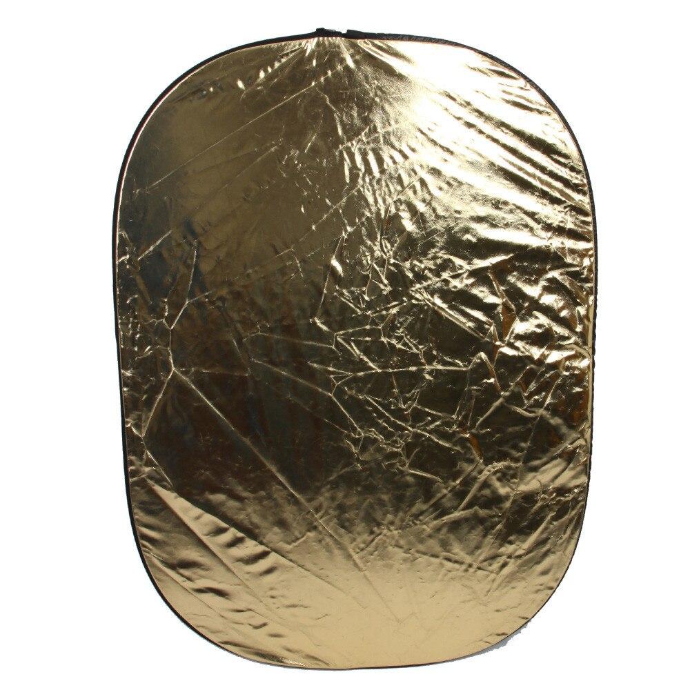 80*120CM/31x47 Studio Flash Accessories 5in1 Gold/Silver/Black/White/Translucent Reflector Board Dish Plate For photography