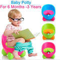 2016 Fashion Multicolor Baby Potty Portable Potty Training Baby Toilet Seat For Boys  Girls 6M-3Years
