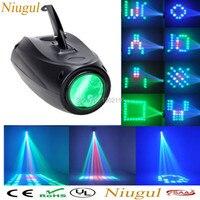 Magie Digitale Muster Ändern 64 LED RGBW Bühne Laser Lichter Projektor EU/Us stecker Disco LED Licht Luftschiff Kühlen mode Form-in Bühnen-Lichteffekt aus Licht & Beleuchtung bei