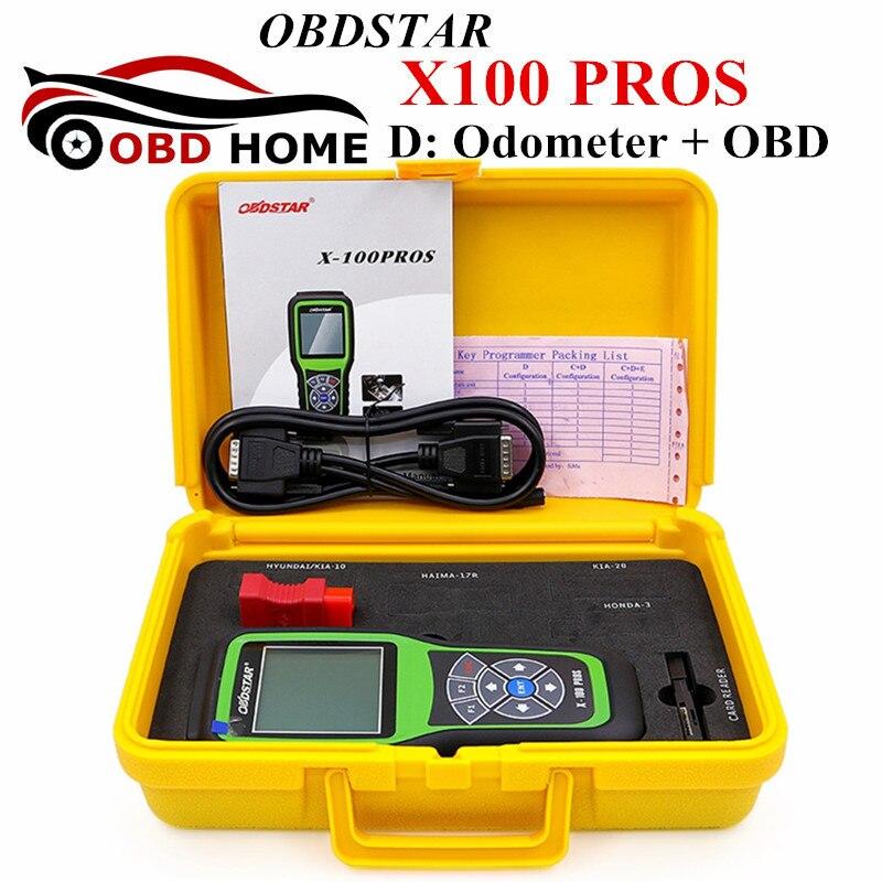 Новое поступление obdstar X-100 плюсы пробег X100 Pro регулировка одометра (D Тип) X 100 pro обновление на официальном сайте