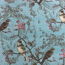 Großhandel Vintage Bird Fabric Gallery Billig Kaufen Vintage Bird