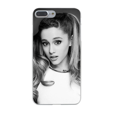 Ariana Grande Hard Case Transparent for iPhone 7 7 Plus 6 6s Plus 5 5S SE 5C 4 4S