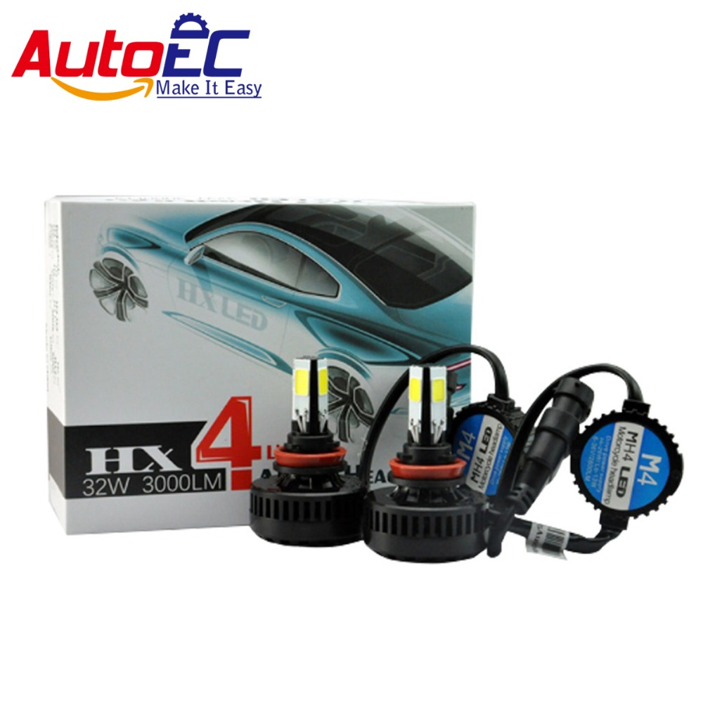 ФОТО AutoEC 10set 9005 32W 3000LM  high power LED bulbs car fog DRL led headlight kit free shipping #LN38