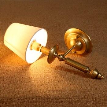 Espelho De Cobre De Parede País Da América Lâmpada Simples Europeu Sala De Estar Quarto Lâmpada De Cabeceira Lâmpada De Parede única Cabeça