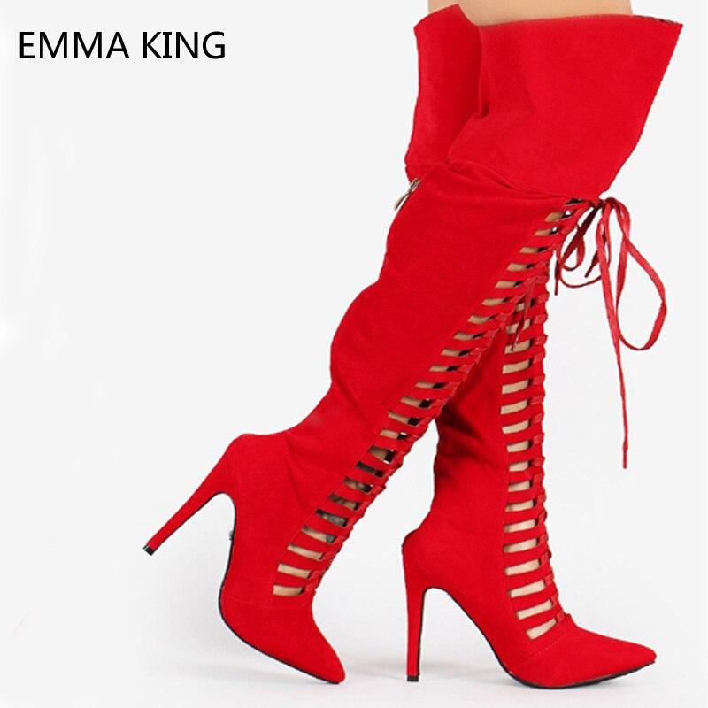 Courroie As as Gladiateur Bottes De Femme Femmes Croix Pointu Sur Zip Genou Stiletto Talons 3543 Picture Haute Bout Chaussures Dames Picture Le Retour htQCdxsr