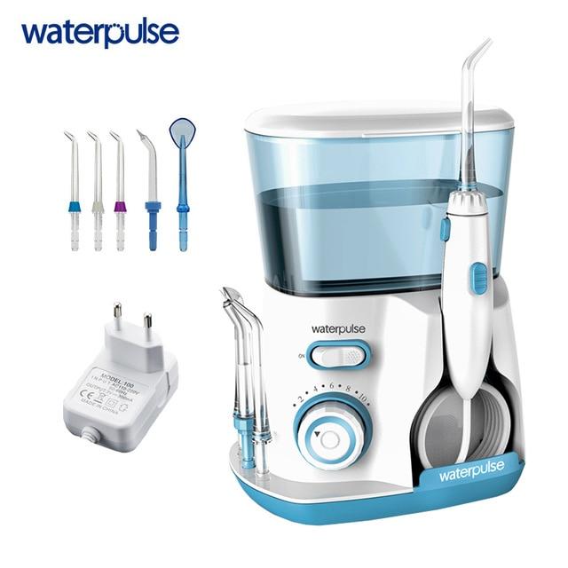Waterpulse V300 3 Colors Dental Flosser Pro Oral 800ml Oral Dental Floss Irrigator For Family Daily Oral Care