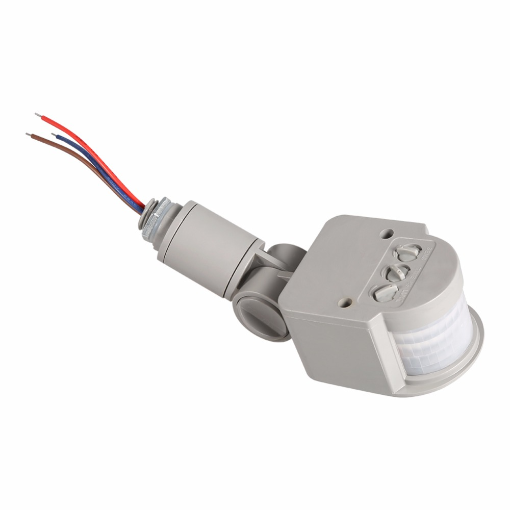 Outdoor Motion Sensor Detector Wall Light Lamp Switch Led Pir Infrared Motion Switch Sensor Detector Ac85v~260v 12v Preventing Hairs From Graying And Helpful To Retain Complexion Tools
