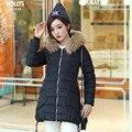 Манто femme зимняя куртка женщин пуховик пальто 2016 мех куртка женская куртки и случайные парки casaco feminino тонкий новый