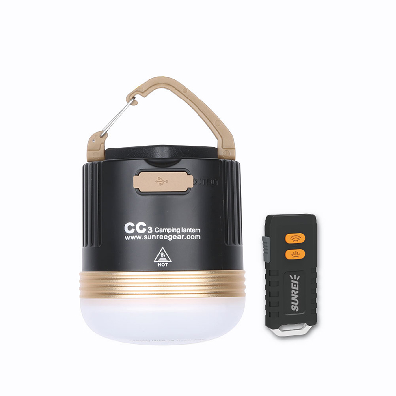 Camping Rechargeable magnétique Cob LED 5 Modes étanche Portable lanternes pliable crochet accrocher l'éclairage pour multisports