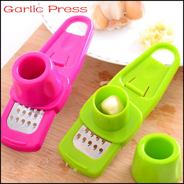 by DHL or EMS 200 pcs multi-functional grinding the garlic Presses , kitchen gad