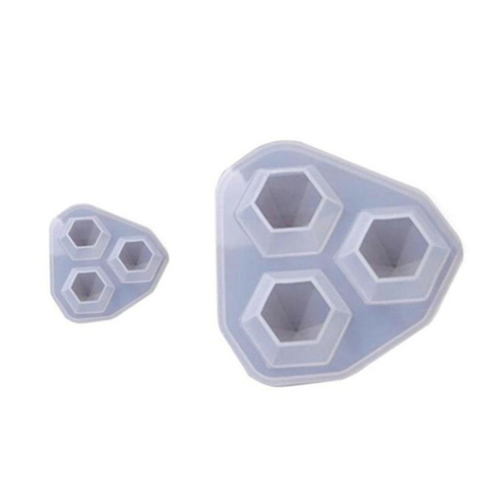 Resin Diamond Shape Silicone Mold Jewelry Making DIY Casting Craft Mould Tool
