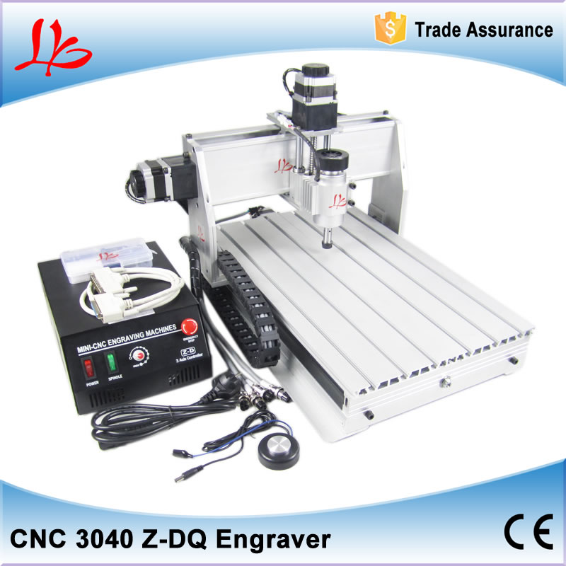free shipping CNC 3040 CNC router, 230w spindle motor CNC 3040 engraving drilling/ milling machine, wood, PCB, PVC, acrylic free tax desktop cnc wood router 3040 engraving drilling and milling machine
