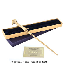 Metal Core Lord Voldemort Magic Wand with High Quality Gift Box Packing(China)