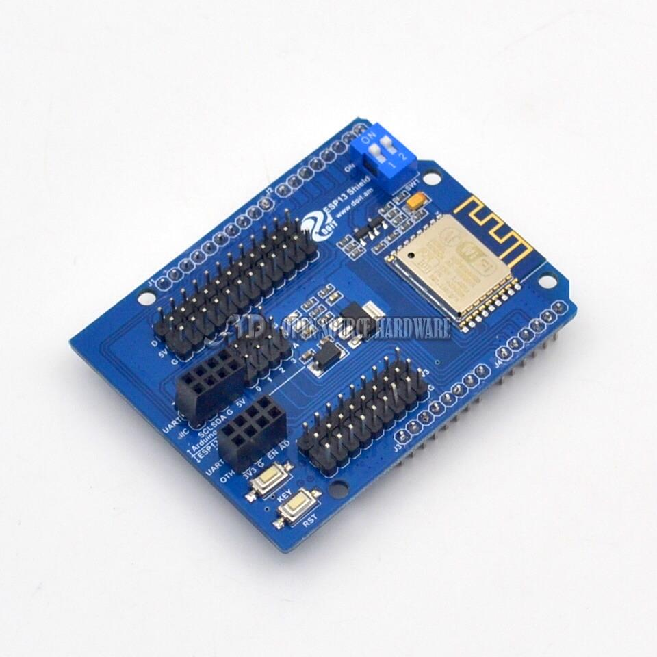 ESP8266 Web Sever Serial WiFi Shield Board Module With ESP-13 For UNO R3