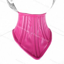 Faux Leather Mask Collar Bondage Slave Sex Games Fetish Porno Adult Products Toy BT0296