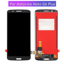 купить 5.93 inch For Motorola G6 Plus LCD Display Touch Screen Digitizer Assembly For Moto G6Plus XT1926 LCD Screen Free Tools по цене 1370.08 рублей