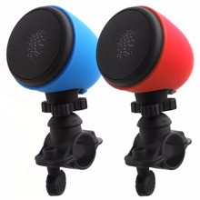 Outdoor Mini Motorcycle Bicycle Wireless Bluetooth Speaker Portable Speakers with Mic Mount for Mobile Phone -25