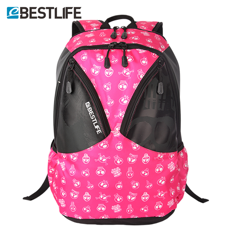 BESTLIFE Casual Cartoon Printing Ladies Backbag 2017 Brand Design Men Women Travel Laptop Backpack School Bags For Teenagers 14 15 15 6 inch flax linen laptop notebook backpack bags case school backpack for travel shopping climbing men women