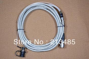 Nagoya RC-5MS 5 Meter Coaxial Extend Cable(Silver) SO239 to PL-259 for Mobile Radio