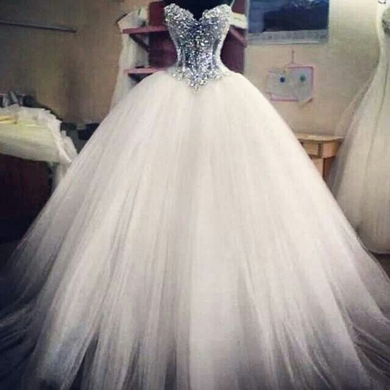 Princess Ball Gown Wedding Dresses With Bling Photo Album ...