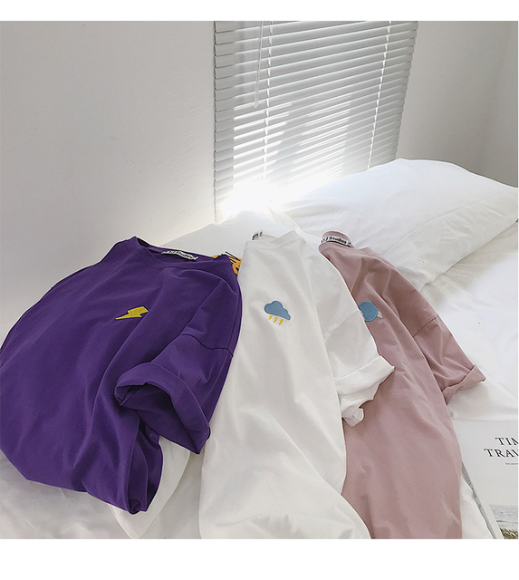 Kawaii Long Sleeved Cotton T-Shirt