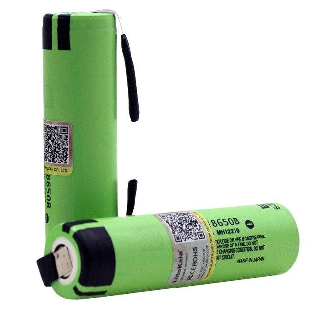 Новый liitokalanew оригинальный NCR18650B 3,7 В 3400 мАч 18650 литиевая аккумуляторная батарея для батареи + DIY никель кусок