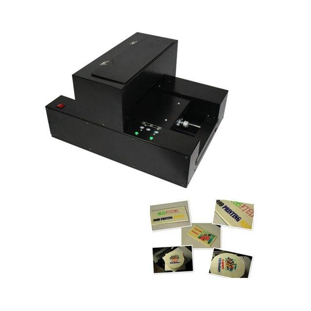 3d impressora de alimentos biscoitos tamanho a4 flatbed máquina de