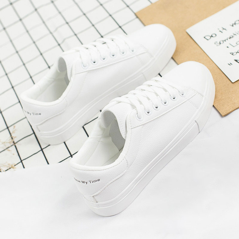 Bolek Lolek Shoes Women White Sneakers Female Canvas Shoes Women Fashion Vulcanize Shoes Summer Casual Zapatillas Mujer Hot