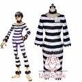Nanbaka Jyugo Prisión N° 15 de Ropa Cosplay Costume Set Completo con Accesorios
